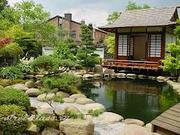 Японский стиль ландшафтного дизайна.