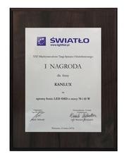 SONIC LED SMD компании «Kanlux»–лучший продукт выставки «СВЕТ - 2013»!