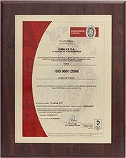 Процесс ресертификации стандарта ISO в «Kanlux» успешно завершен!