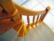 Деревянные лестницы «Восток»: индивидуализация готовых решений