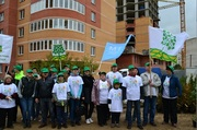 Озеленение участка в поселке Лесной городок в Подмосковье