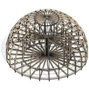 Без единого гвоздя: технология строительства купольных домов