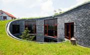 Спиральный дом-колодец