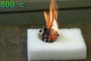 Испытания горючести строительных утеплителей