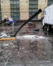 Санация трубопровода наружной канализации