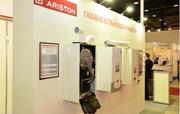 Решения Ariston для отопления и горячего водоснабжения на выставке