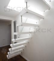 Типы лестниц для загородного дома