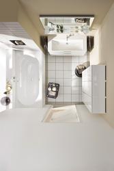 Ванные комнаты в условиях ограниченного пространства