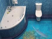 Лучшее решение для ванной – 3d полы