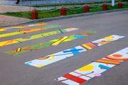 В Химках пешеходные переходы превратились в произведения искусства