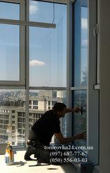 Тонировка окон архитектурными пленками
