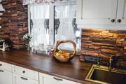 Кухонная столешница из массива дерева