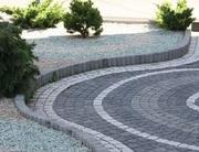 Брусчатка гранитная колотая тротуарная