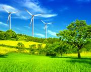 Ветроэнергия и энергия солнца в Актау
