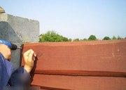 Как построить недорогой забор из необрезной доски