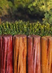 Декоративный садовый заборчик