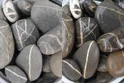 Галька, галечник, ландшафтный камень змеевик яшма разных размеров