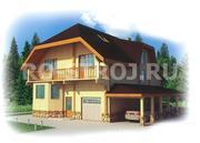 Деревянные дома из клееного бруса с гаражом