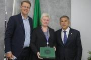 Президент Группы компаний ROCKWOOL Йенс Биргерссон встретился с прези