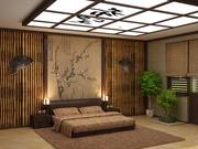 Квартира с бамбуком в интерьере.