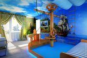 Ремонт детской комнаты в Морском стиле. Компания Бабич