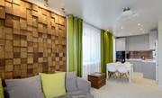 Квартира в экологическом стиле. Ремонт квартир от Компании Бабич.