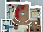 Разработка дизайна и планировка современных квартир